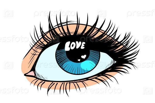 Любовь в глазах