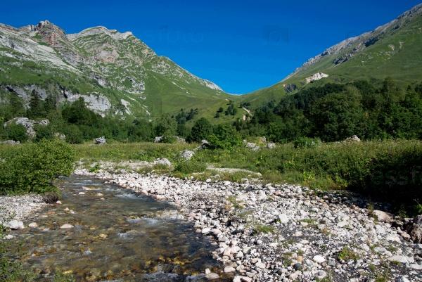 Потрясающая красота гор Северо-Западного Кавказа