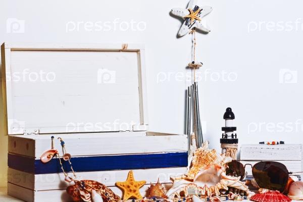 Натюрморт в морском стиле