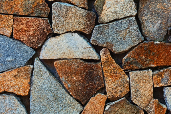 Грубый камень тротуара фон