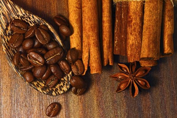 Кофе с корицей и анисом