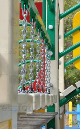 Подвесной мост на цепях