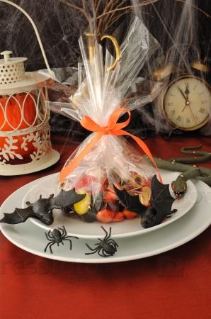 Фрагмент стола для Хэллоуина