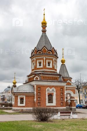 Часовня Александра Невского в Ярославле, Россия