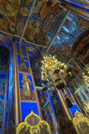Внутри собора Рождества Богородицы, Суздаль, Россия