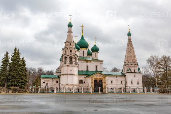 Церковь Ильи Пророка, Ярославль, Россия