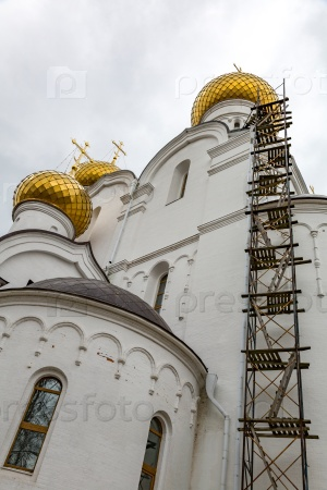 Внешний вид Успенского Собора, Ярославль, Россия