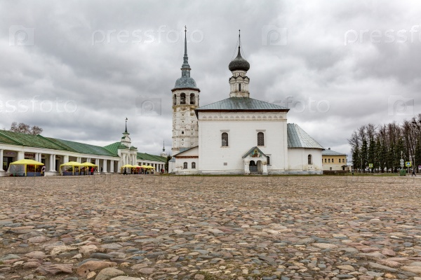 Казанская церковь в Суздале, Россия