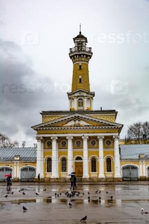 Здание пожарной охраны в Костроме, Россия
