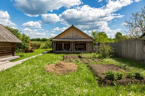 Природный пейзаж сельской местности