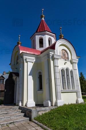 Часовня Святого Георгия Победоносца в российском городе Мышкин