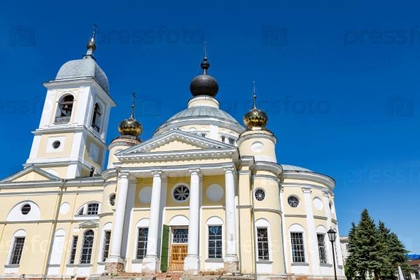Успенский собор в российском городе Мышкин