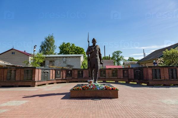Мемориальный комплекс, посвященный победе во Второй мировой войне, Мышкин, Россия