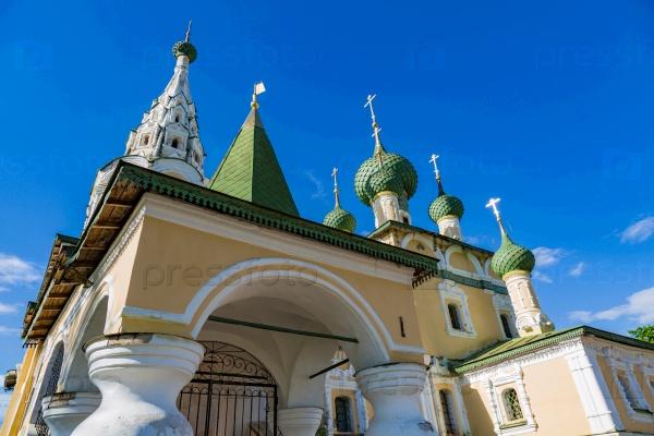 Церковь Рождества Иоанна Крестителя 17-го века, Углич, Россия