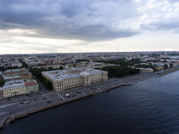 Река Нева, набережные и мосты. Санкт-Петербург