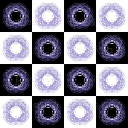 Текстура 3D-рендеринга синий шаблон