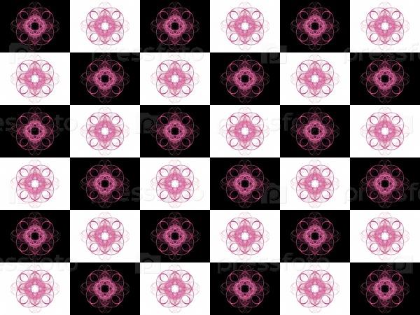 Текстура 3D-рендеринга фиолетовый узор