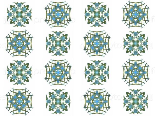 Бесшовные текстуры с 3D-рендерингом