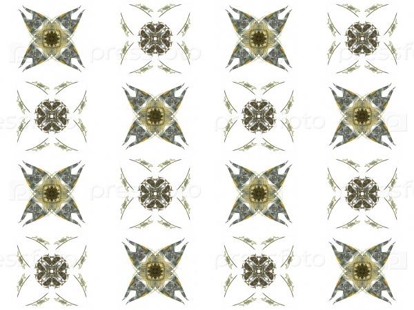 Бесшовная текстура с 3D-рендерингом