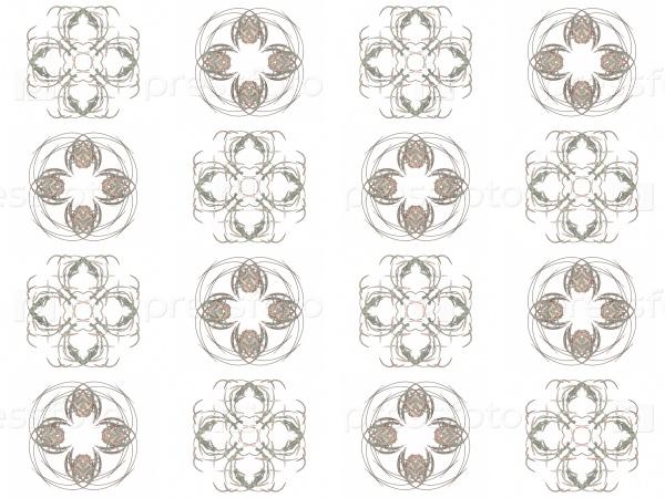 Текстура 3D-рендеринга серый узор