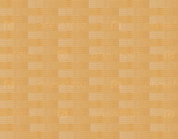 Панель сложенных переплетенных деревянных полос