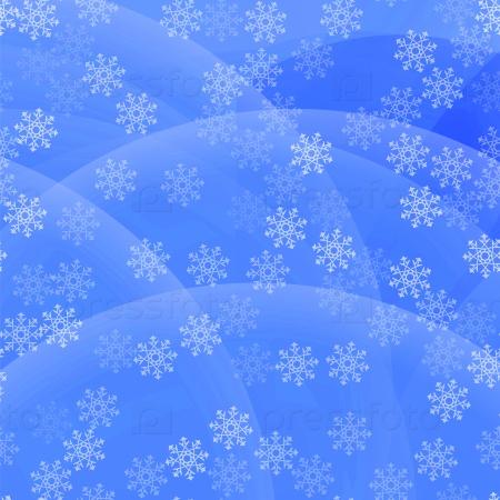 Морозный узор на фоне голубого неба