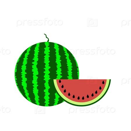 Спелый арбуз