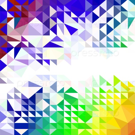 Абстрактный красочный шаблон