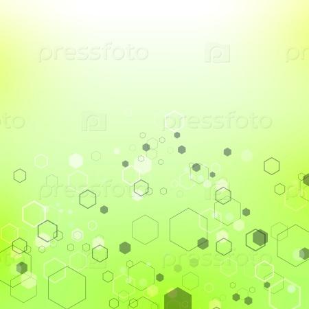 Зеленый фон технологии
