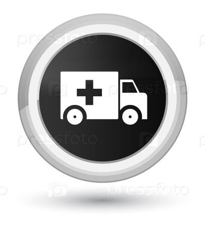 Машины скорой помощи значок