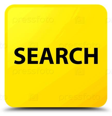 Поиск желтый квадратный значок