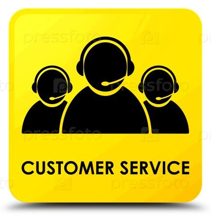 Обслуживание клиентов значок