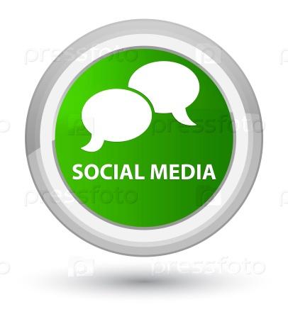 Социальные медиа значок