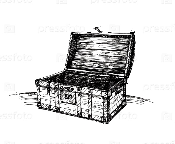 Деревянный ящик