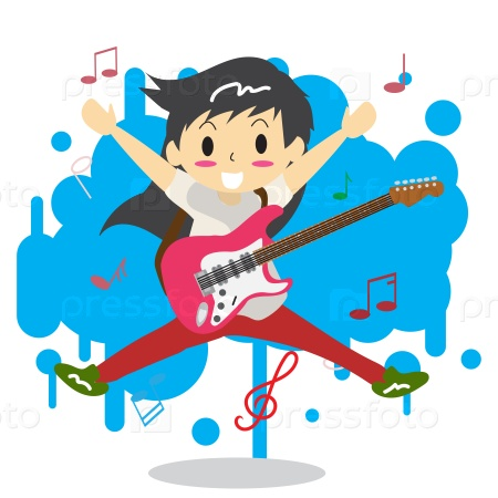 Молодой гитарист