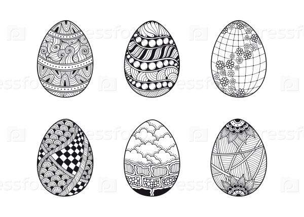 Набор иконок яйца