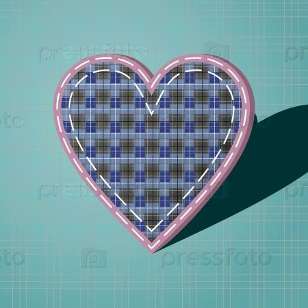 Сердце с шахматным порядком