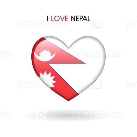 Символ любви к Непалу