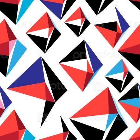 Разноцветный геометрический узор
