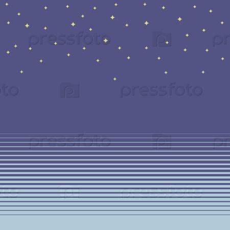 Синий фон с полосками