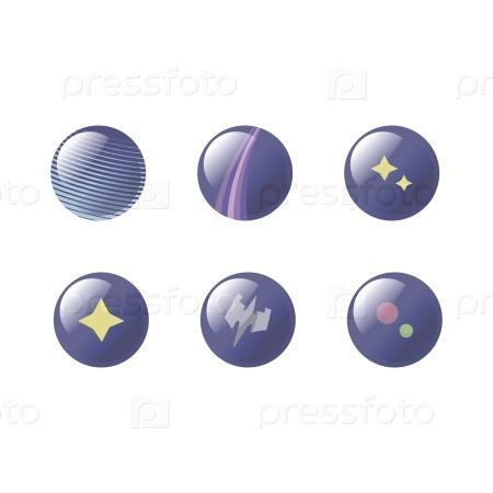 Космические кнопки