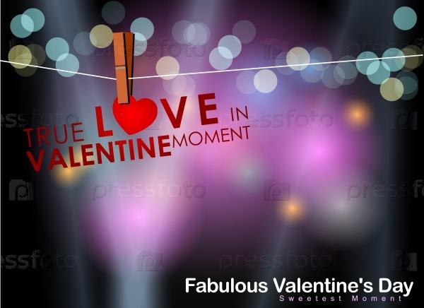 Абстрактный фон дня Святого Валентина