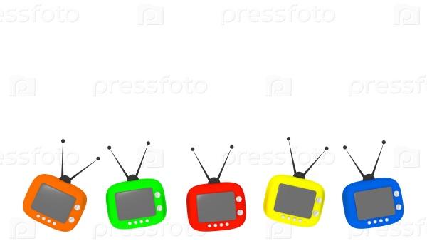 Пять ретро-телевизоров