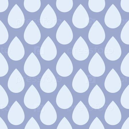 Бесшовный фон с каплями дождя