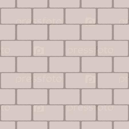 Бежевый бесшовный фон кирпичной стены