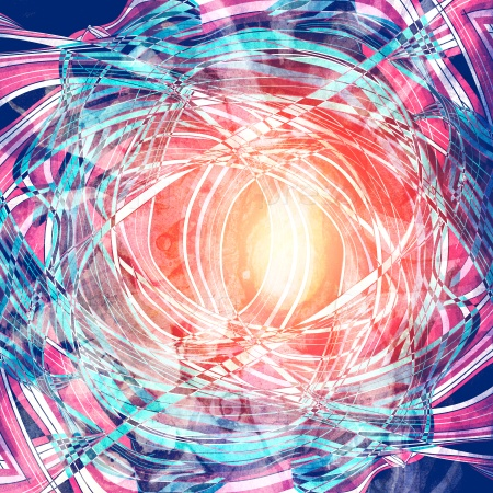 Абстрактный фон волнистых элементов