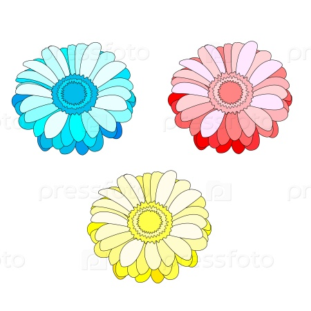 Набор из трех цветов