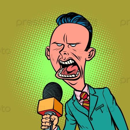 Сердитый журналист
