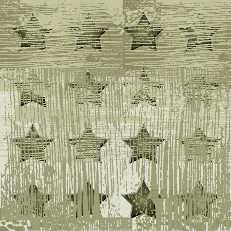 Военный фон со звездами