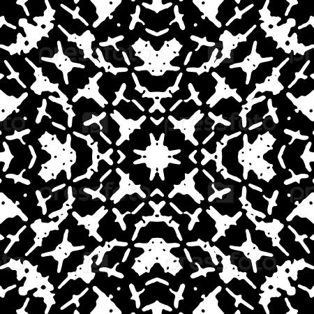 Черно-белый геометрический узор